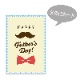 【父の日メッセージカード付き】バニラプリン3種食べ比べセット6個入り【送料込み】