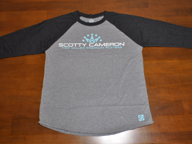 スコッティキャメロン スーパーファースト ラグラン Tシャツ ヘザー/ブラック M SCOTTY CAMERON SUPER FAST RAGLAN SLEEVE T SHIRT HEATHER/BLACK M 104586
