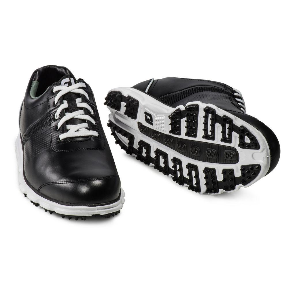 フットジョイ ドライジョイカジュアル ゴルフシューズ ブラック FJ DRYJOY CASUAL SHOES BLACK/WHITE 9.5M 53697