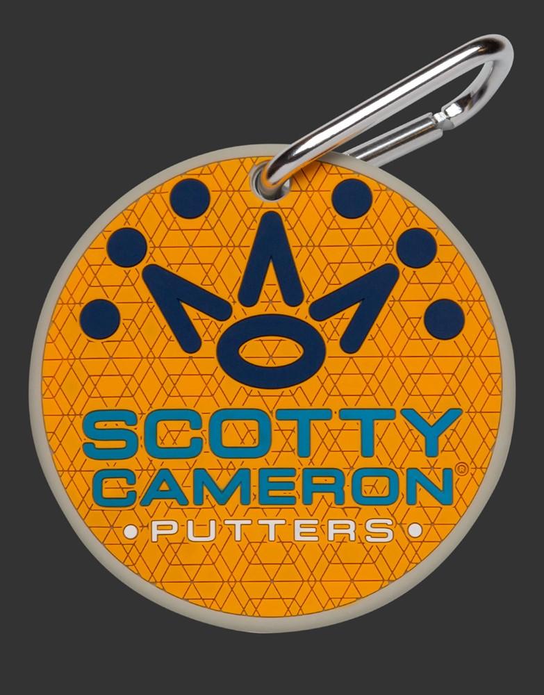 スコッティキャメロン サークルT ラックスラバー パッティングディスク オレンジ  SCOTTY CAMERON 2021 CIRCLE T LUX RUBBER PUTTING DISC ORANGE 103440