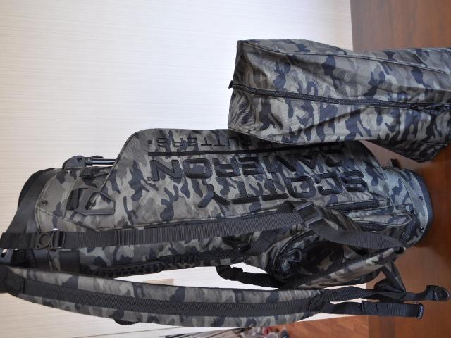 スコッティキャメロン スタンドバッグ カモグリーン SCOTTY CAMERON 2019 WANDERER STAND BAG CAMO GREEN 102006