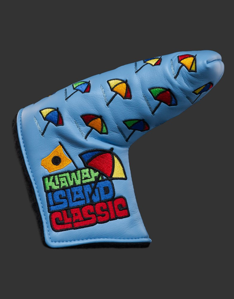 スコッティキャメロン 2021 全米プロ ダンシングアンブレラ ヘッドカバー ブルー SCOTTY CAMERON 2021 PGA KIAWAH ISLAND CLASSIC HEADCOVER BLUE 103501