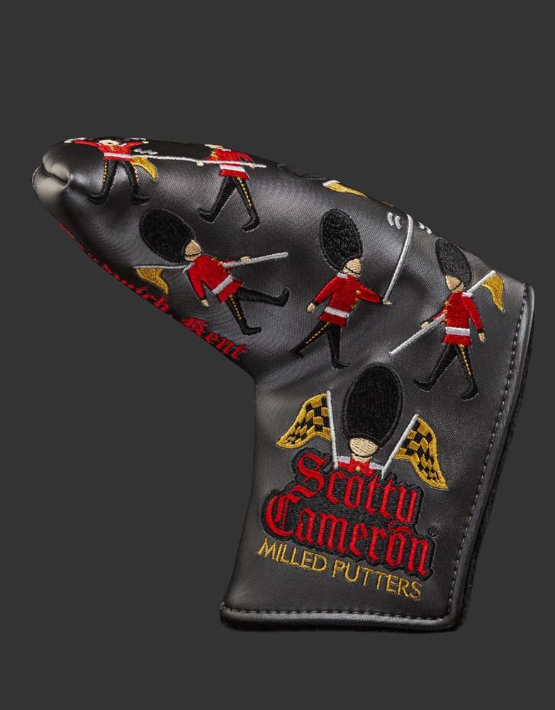 スコッティキャメロン 2021 全英オープン ロイヤルオープンガード ヘッドカバー ブラック SCOTTY CAMERON 2021 BRITISH ROYAL OPEN GUARDS HEADCOVER BLACK 102856