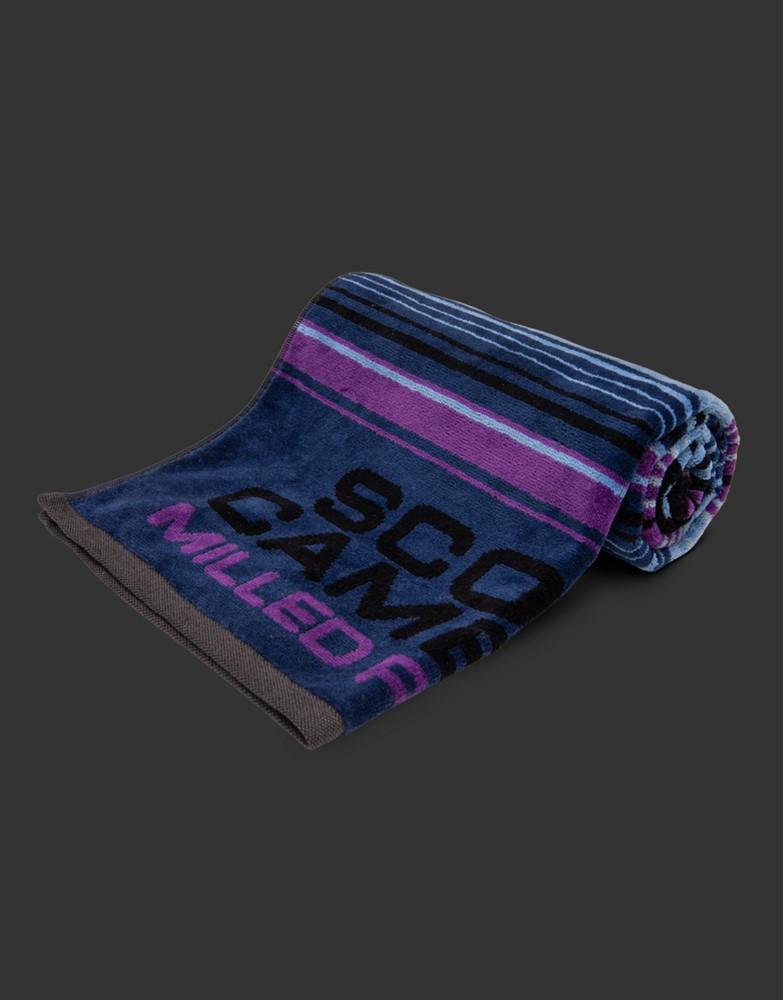 スコッティキャメロン ノチェセラペ ゴルフタオル ブルー/パープル SCOTTY CAMERON 2021 NOCHE SERAPE GOLF TOWEL BLUE/PURPLE 102671