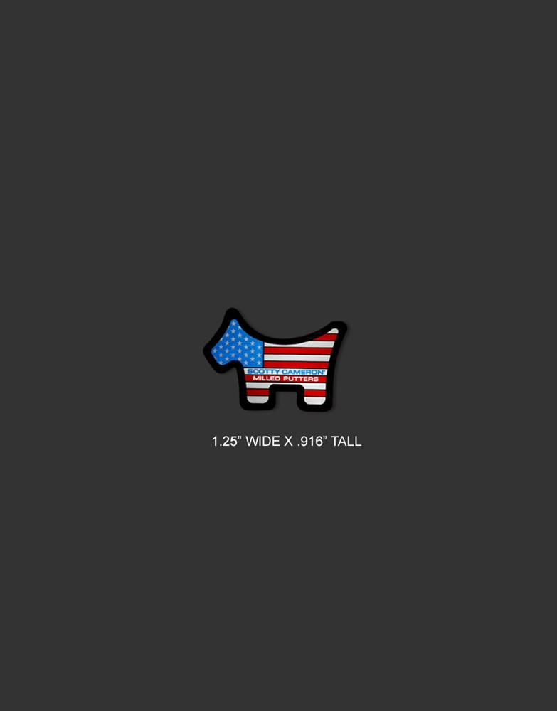 <送料無料代引不可メール便>キャメロン USA ステッカーセット SCOTTY CAMERON 2021 US FLAG STICKERS SET 102857