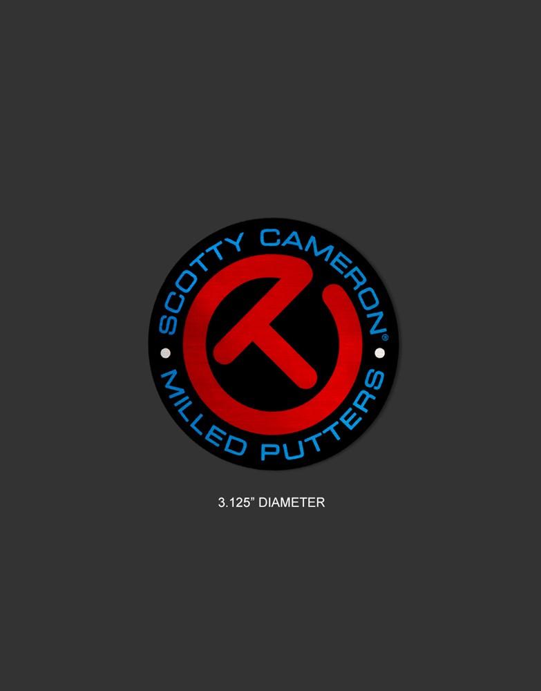 <送料無料代引不可メール便>キャメロン サークルT ステッカー レッド SCOTTY CAMERON 2021 CIRCLE T STICKER RED/BLUE/BLACK 102857CT