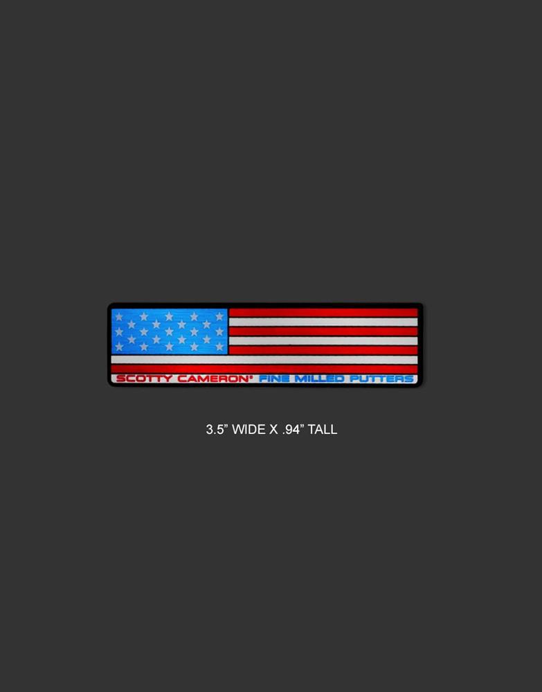 <送料無料代引不可メール便>キャメロン USAフラッグ ステッカー SCOTTY CAMERON 2021 USA FLAG STICKERS 102857FG