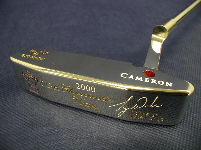 スコッティキャメロン タイガーウッズ 2000全米プロ ステンレス SCOTTY CAMERON 2000 PGA CHAMPIONSHIP VICTORY TIGER WOODS STAINLESS