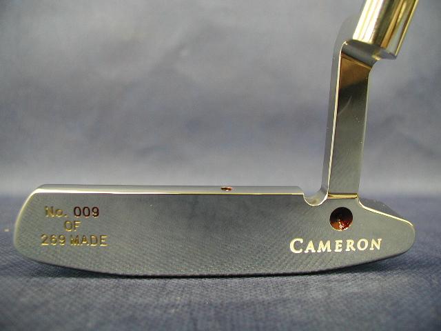 スコッティキャメロン タイガーウッズ 2000全英オープン ステンレス SCOTTY CAMERON 2000 BRITISH OPEN VICTORY TIGER WOODS STAINLESS
