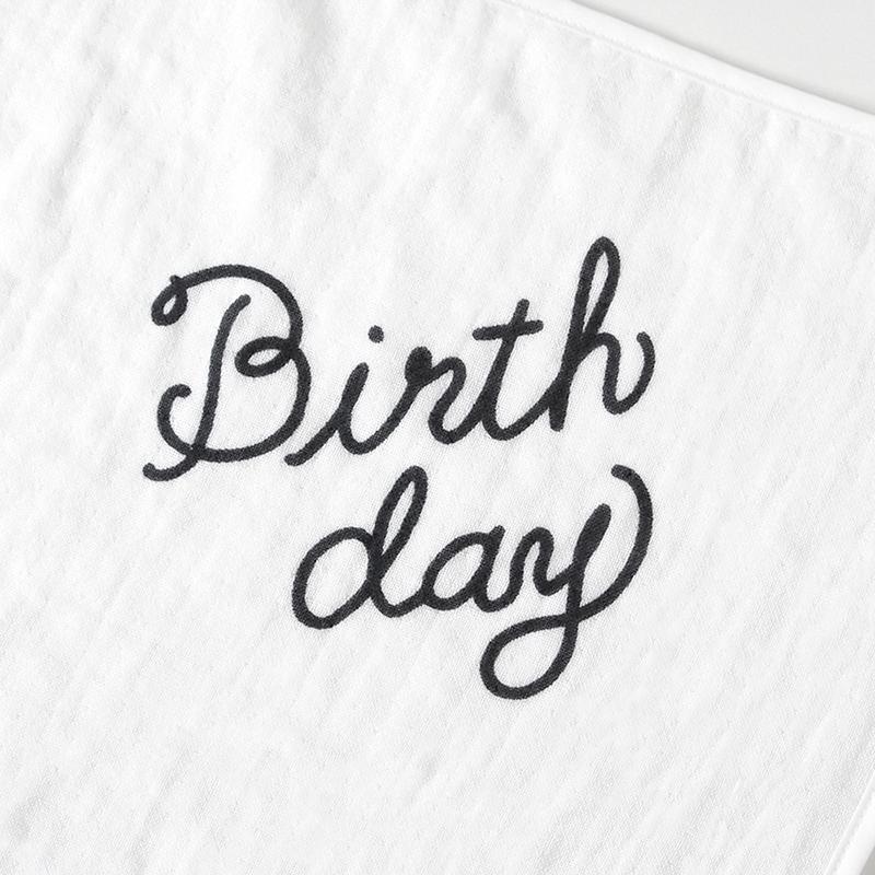 10mois/アニバーサリータオル ディモワ ベビー 記念日 撮影グッズ 出産祝い