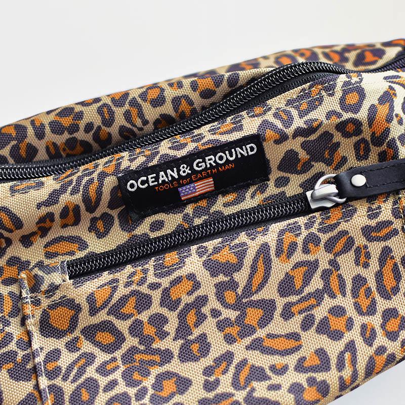 Ocean&Ground/レオパードボディバッグ オーシャン&グラウンド