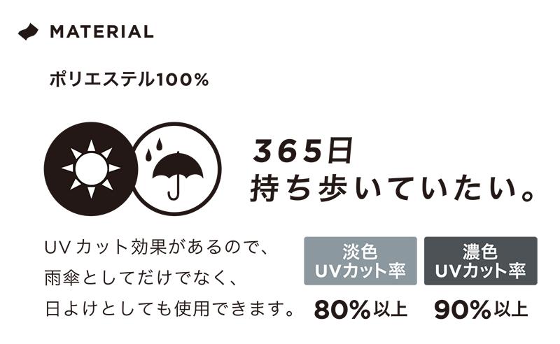KiU/ASC アンブレラ 折りたたみ傘