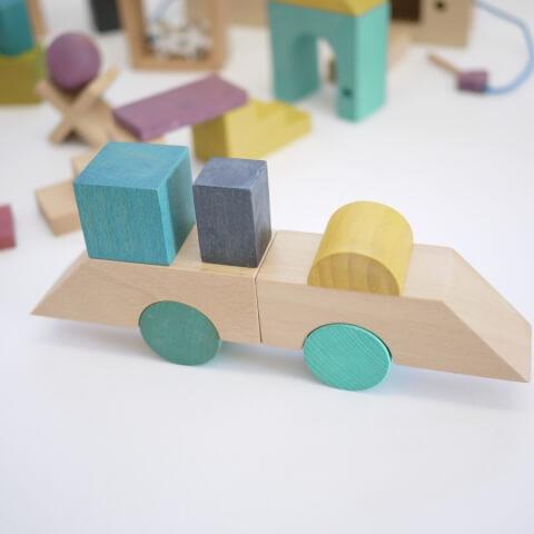 [送料無料] gg* tsumiki(ツミキ)木製  ベビートイ キッズトイ 木のおもちゃ