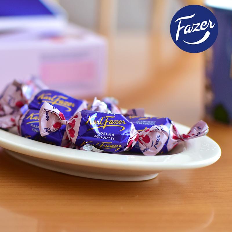 【期間限定】Fazer(ファッツェル)/KarlFazer ミルクボックス ラズベリーヨーグルト 270g カール・ファッツェル 箱入り フィンランド