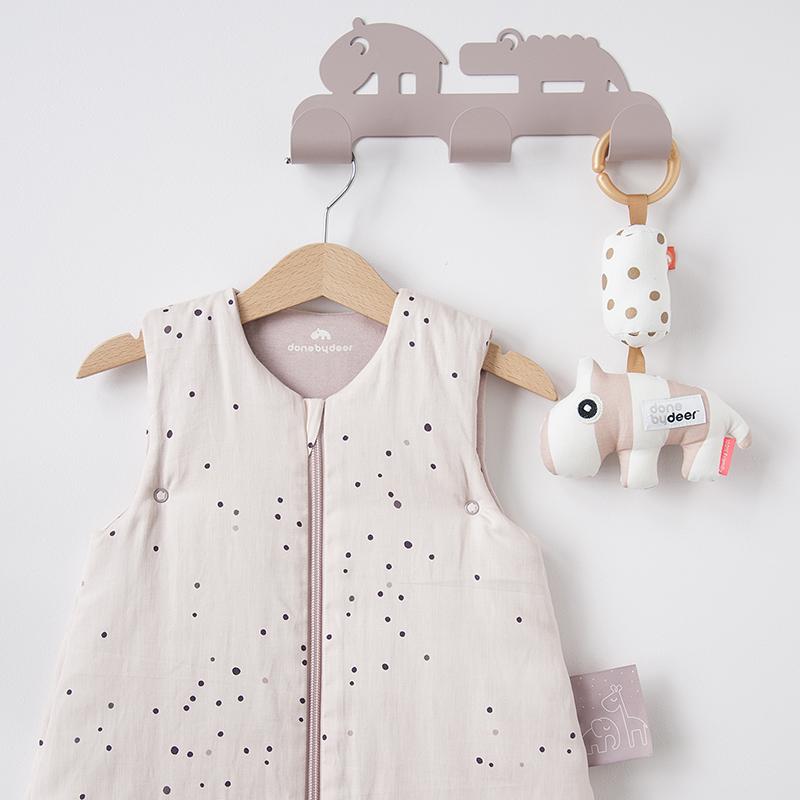 [送料無料] Done by Deer/スリープバッグ ドリーミードット 90cm Sleepy bag TOG 2.5 Dreamy dots ダンバイディア ベビー スリーパー