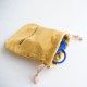 Ocean&Ground(オーシャンアンドグラウンド)/コットン巾着小 入園・入学準備 コップ袋 おやつ袋 ふきん入れ 巾着袋