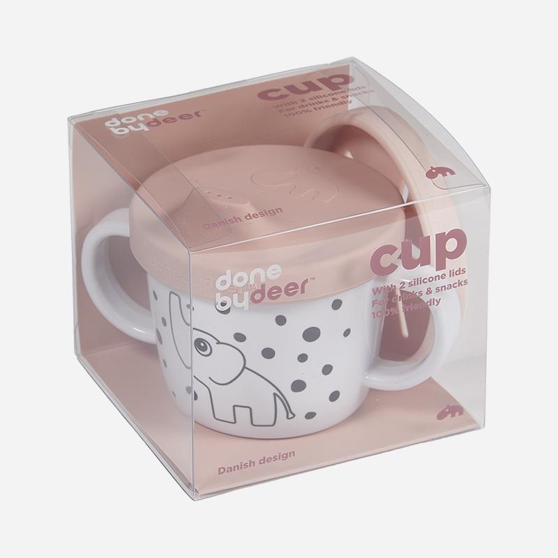 Done by Deer/シリコンスパウト&スナックカップ エルフィー Silicone spout/snack cup Elphee ダンバイディア スパウトカップ 北欧 ベビー