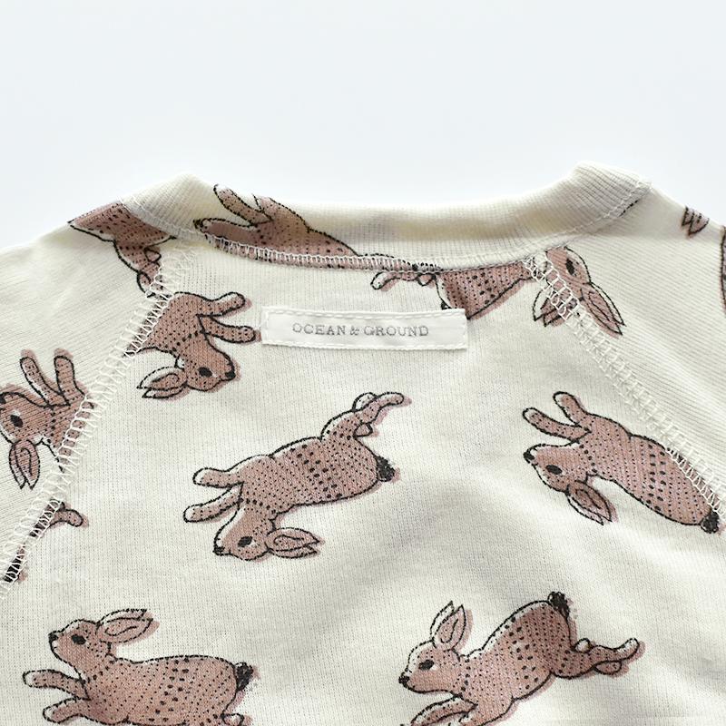 Ocean&Ground/コンビ肌着 Antique Rabbit オーシャンアンドグラウンド