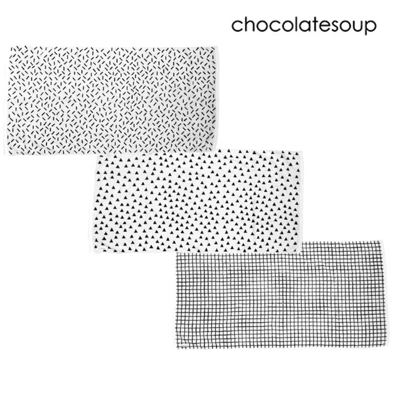 chocolatesoup/GEOMETRY BATH TOWEL ジオメトリーバスタオル チョコレートスープ