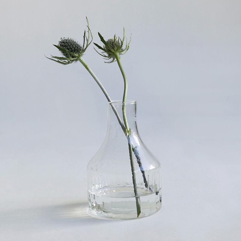 Horn Please/リューズガラス クーレライン フラワーベース ソラス 花瓶 志成販売