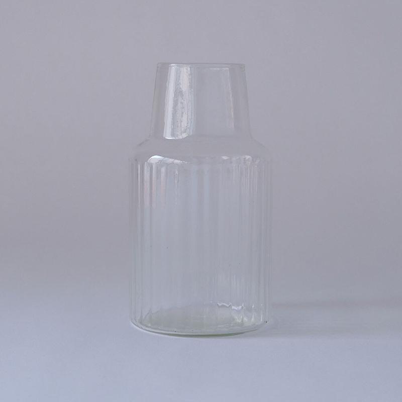 Horn Please MADE/リューズガラス クーレライン フラワーベース シム 花瓶 志成販売