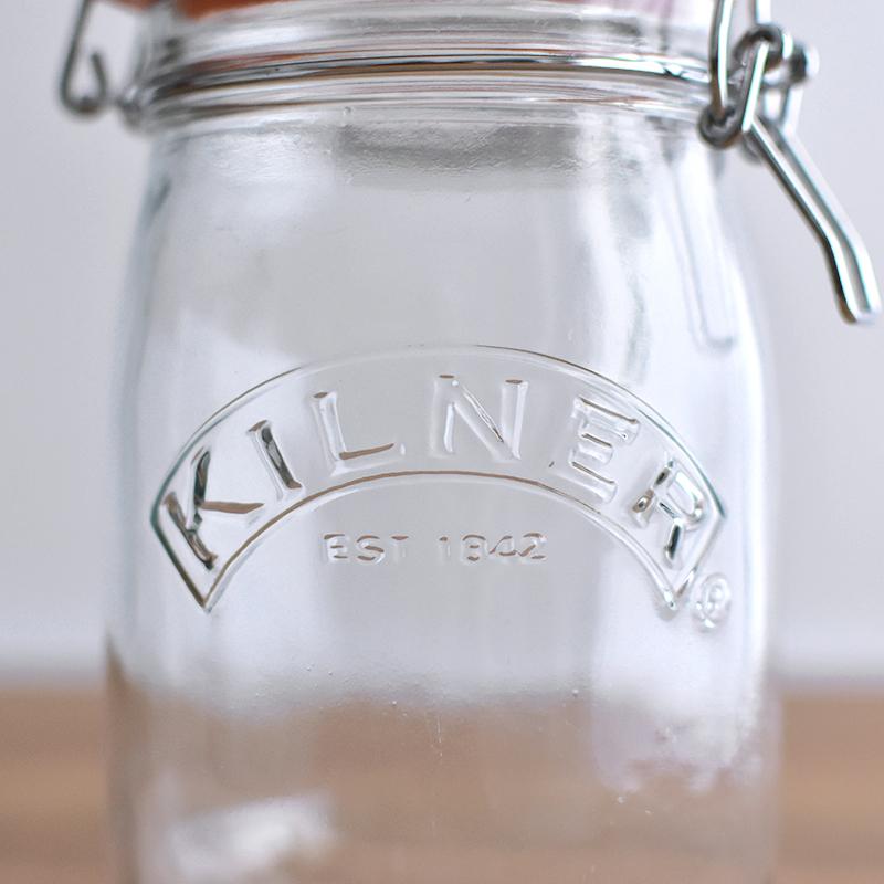 KILNER/ROUND CLIP TOP JAR 125ml ラウンドクリップトップジャー キルナー