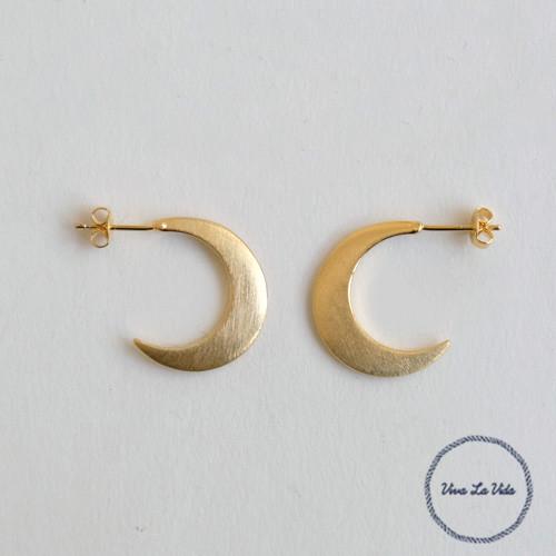 Horn Please/BRASS 三日月ピアス ルネッタ moon