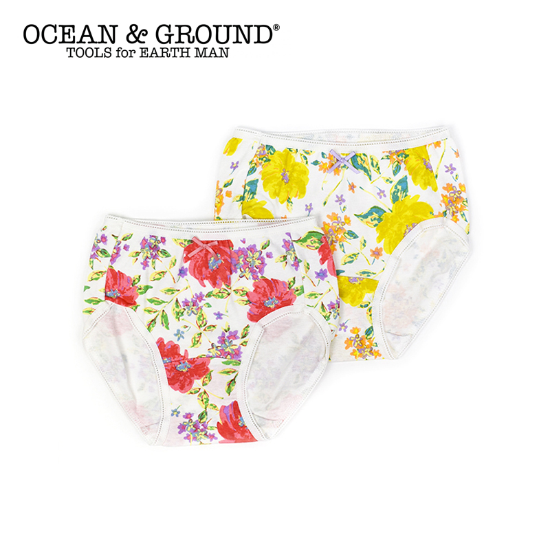 Ocean&Ground(オーシャンアンドグラウンド)/ ショーツ Peony flower ガールズ パンツ キッズ