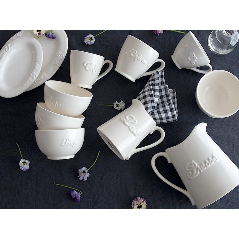 STUDIO M'(スタジオエム)/Cream ware juice pitcher クリームウエア ジュースピッチャー 食器 カフェ