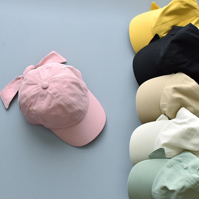 [2020年春夏新作]Ocean&Ground(オーシャンアンドグラウンド)/ GIRL'S リボンベースボールCAP 女の子 ガールズ 帽子 キャップ