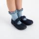 [クリックポスト便送料無料]stample(スタンプル)/ダブルフリルショートソックス キッズ 子供 靴下 3足組