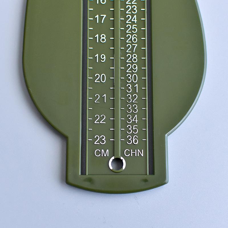 OMNES/キッズ用フットメジャー 足のサイズ 測定器 フットスケール 6cm-22cm オムネス