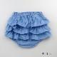 [送料無料] mimi poupons(ミミプポン)/フリルパンツ デニム 70cm〜90cm ブルマコーデ 1歳 誕生日