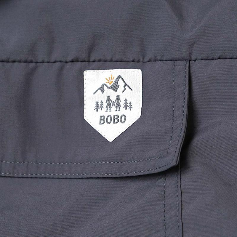 [送料無料]BOBO/3wayベビーウォーマー ボボ 防寒 フリース ライナー付き 20241012 20241013 キャメル チャコール オフホワイトFICELLE フィセル