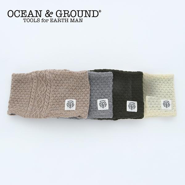 Ocean&Ground/ウラボアニットネックウォーマー オーシャンアンドグラウンド キッズ 子供