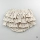 [送料無料] mimi poupons(ミミプポン)/フリルパンツ サークルレース 70cm〜90cm ブルマコーデ 1歳 誕生日