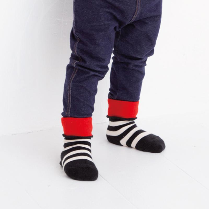 stample(スタンプル)/2WAY ベビークルーソックス 3足組 ベビー 靴下