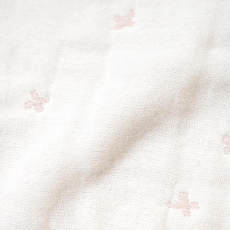 10mois/ふくふくガーゼ(6重ガーゼ) mini me ベビーブランケット ディモワ ぬいぐるみ