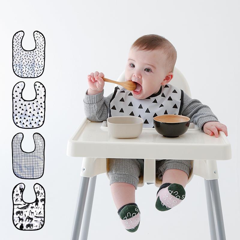 chocolatesoup/GEOMETRY MEALBIB ジオメトリーミールビブ チョコレートスープ お食事エプロン ベビー