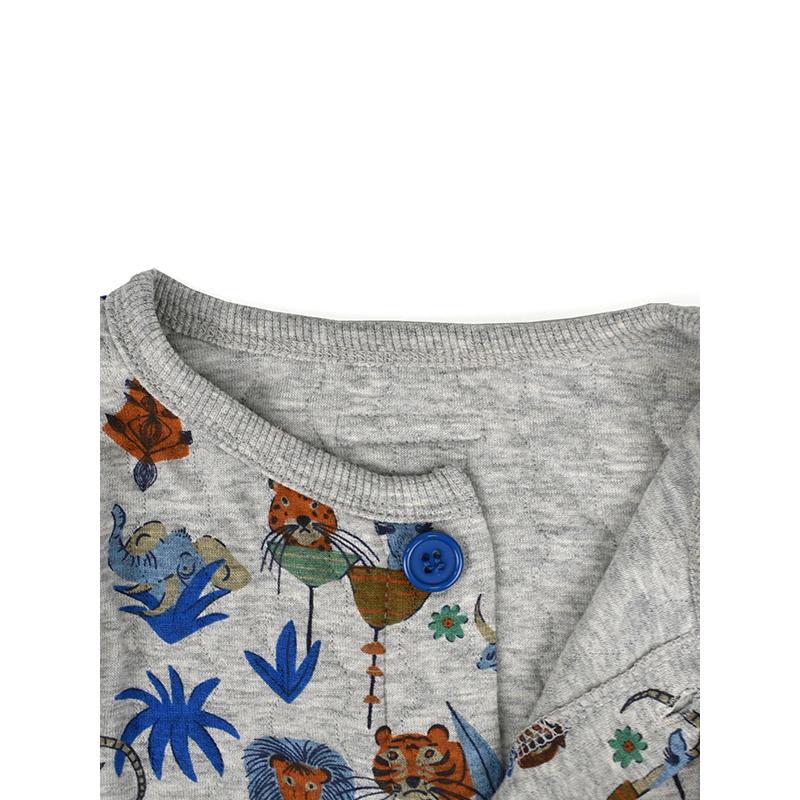 Ocean&Ground(オーシャンアンドグラウンド)/Boy'sキルトパジャマ 着心地抜群 おすすめ パジャマ 家着 かわいい おしゃれ