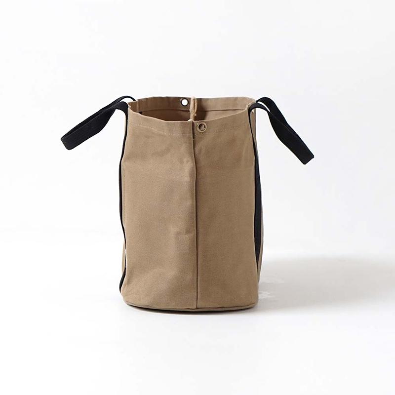 [送料無料]10mois/パッとサッとトート ちょっとトール C-line ディモワ PATTO SATTO TOTE chotto tall コットン バッグ