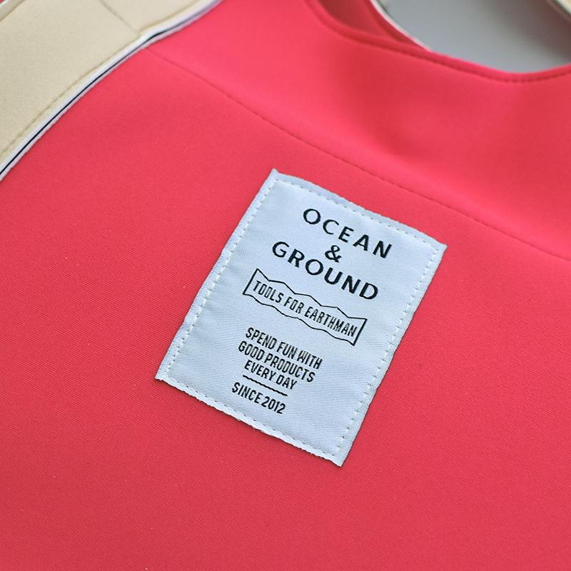 Ocean&Ground/プールバッグ SUNAHAMA オーシャンアンドグラウンド キッズ 子供 スイミング 男の子 女の子 ベージュ ブルー ミント オリーブ ピンク イエロー 1115803