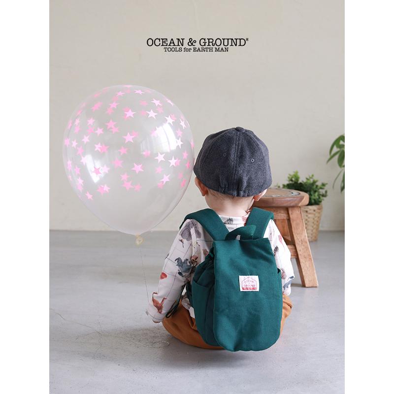 [人気]Ocean&Ground(オーシャンアンドグラウンド)/BABY DAYPACK SMALL DAY デイパックスモールデイ おでかけ ベビーリュック 1歳 一升餅