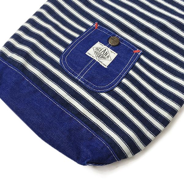 [ラッピング付]Ocean&Ground(オーシャンアンドグラウンド)/BLUE BLUE 通園バッグセット 送料無料 巾着袋 体操着入れ 通園 通学