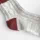 [クリックポスト便送料無料]stample(スタンプル)/ローゲージアランクルーソックス 3足組 靴下 キッズ ソックス 3P