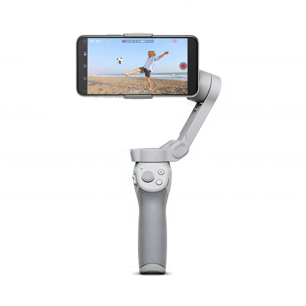 DJI OM 4 スマートフォン用折りたたみ式スタビライザー ジンバル