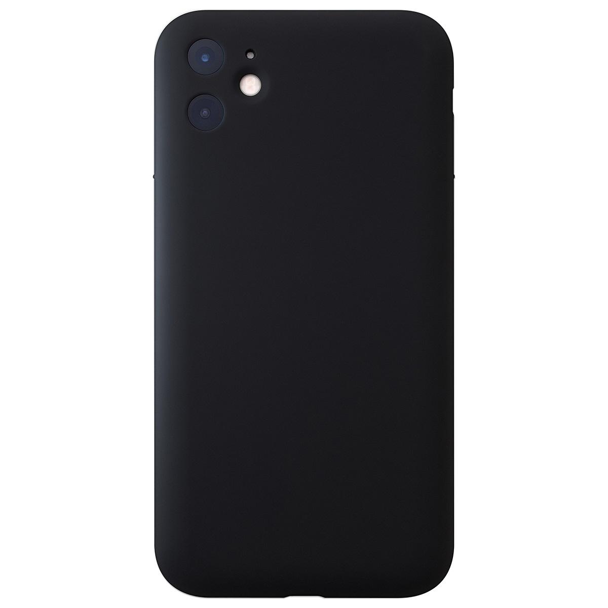 【ネコポス送料無料】【iPhone11】MYNUS CASE(マットブラック)