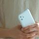 【ネコポス送料無料】【iPhone11】MYNUS CASE(マットホワイト)