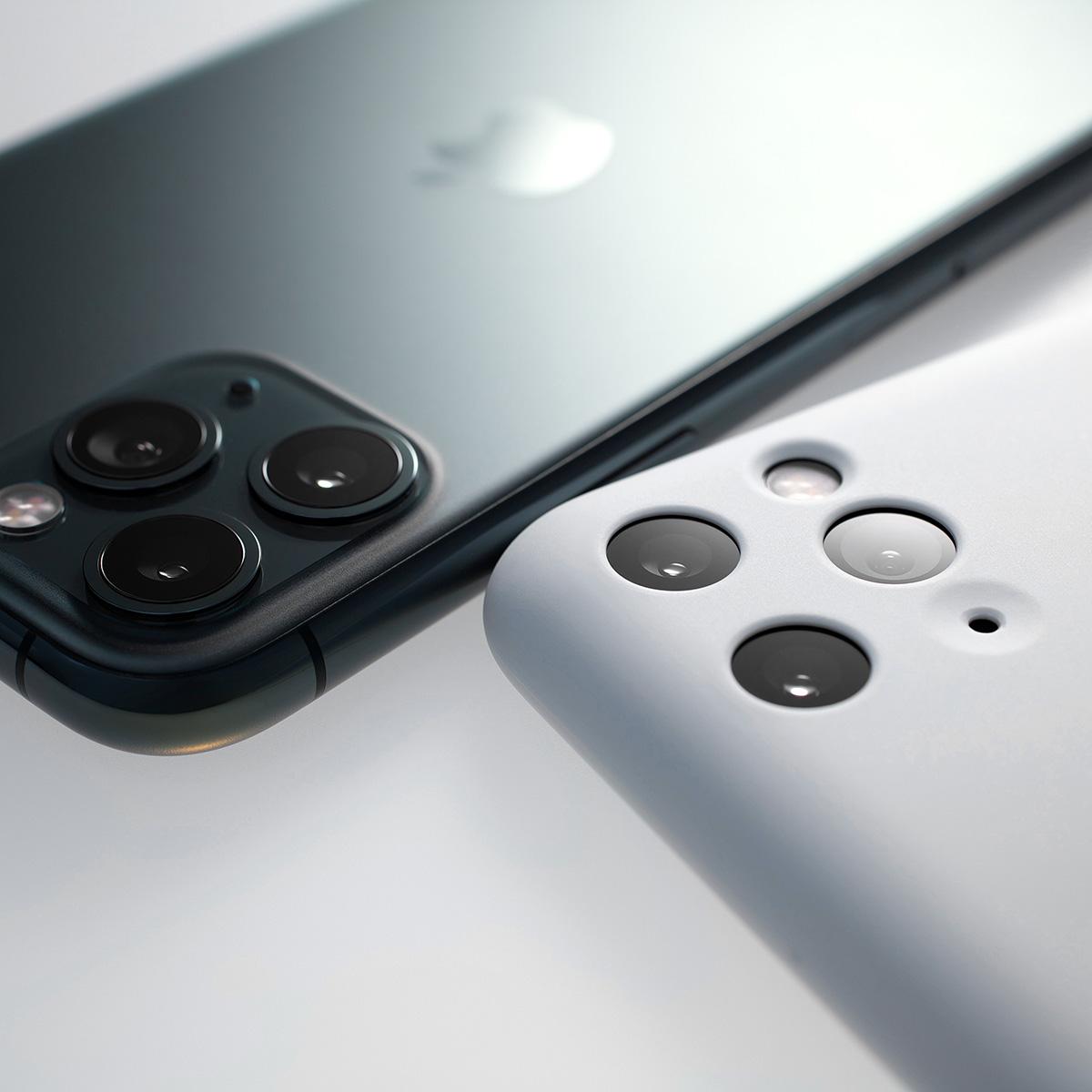 【ネコポス送料無料】【iPhone11 Pro】MYNUS CASE(マットブラック)