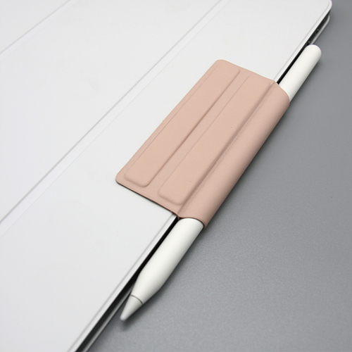 【iPad】All Button In-line Apple Pencil専用 マグネットホルダー ピンクサンド